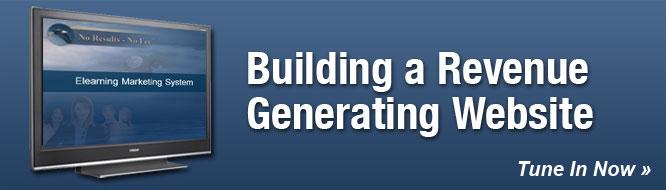 Building a Revenue Generating Website