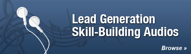 Lead Generation Skill Building Audios