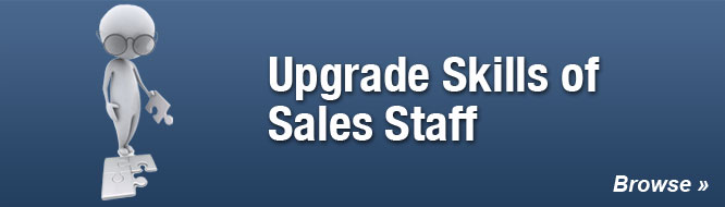 Upgrade Skills of Sales Staff