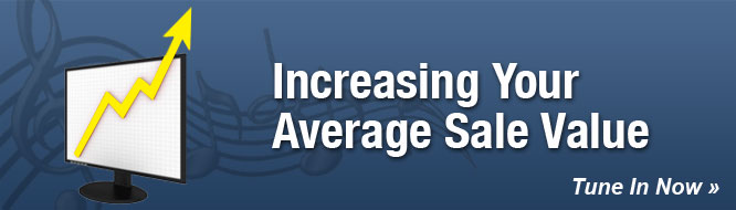 Increasing Your Average Sale Value