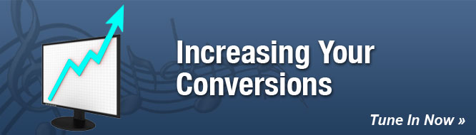 Increasing Your Conversions