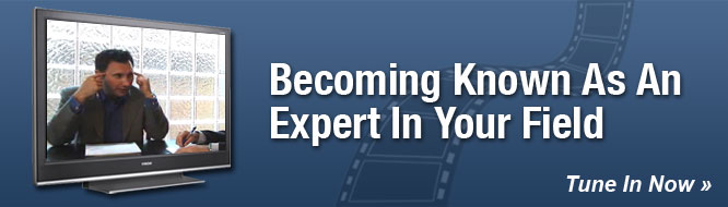 Becoming Known As An Expert In Your Field