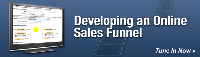 Developing an Online Sales Funnel