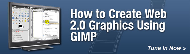 How to Create Web 2.0 Graphics using GIMP