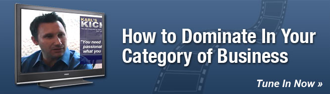 How to Dominate In Your Category of Business