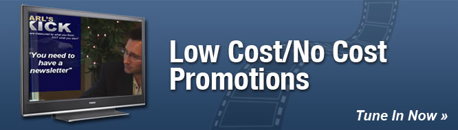 Low Cost/No Cost Promotions