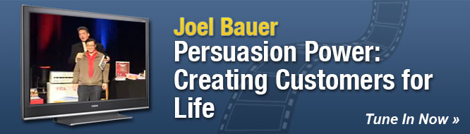 Persuasion Power: Creating Customers for Life