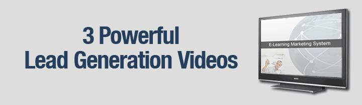 3 Powerful Lead Generation Videos