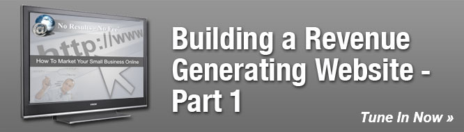 Building a Revenue Generating Website - Part 1