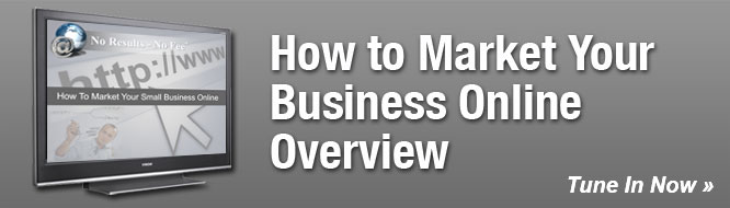How to Market Your Business Online Overview