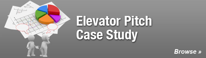 Elevator Pitch Case Study