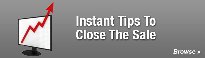 Instant Tips To Close The Sale