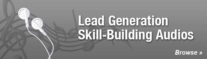 Lead Generation Skill Building Audios
