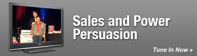 Sales and Power Persuasion
