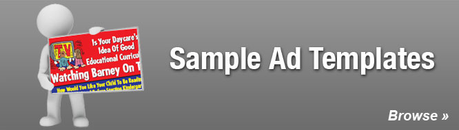 Sample Ad Templates