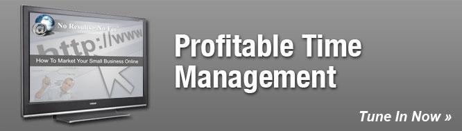 Profitable Time Management