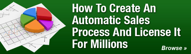 How To Create An Automatic Sales Process And License It For Millions