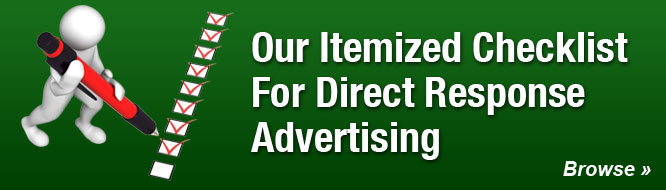 Our Itemized Checklist For Direct Response Advertising