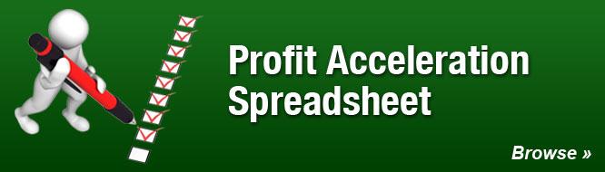 Profit Acceleration Spreadsheet