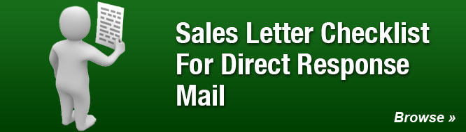Sales Letter Checklist For Direct Response Mail