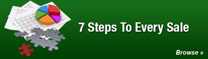 7 Steps To Every Sale