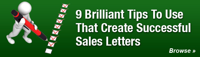 9 Brilliant Tips To Use That Create Successful Sales Letters