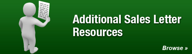 Additional Sales Letter Resources
