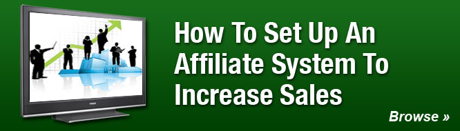 How To Set Up An Affiliate System To Increase Sales