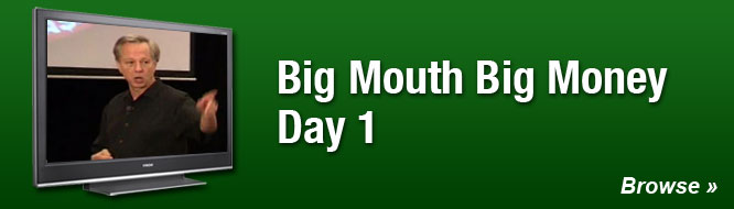 Big Mouth Big Money Day 1