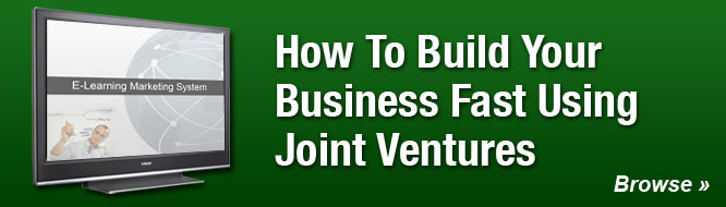 How To Build Your Business Fast Using Joint Ventures