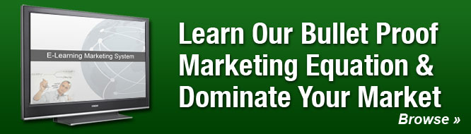 Learn Our Bullet Proof Marketing Equation & Dominate Your Market