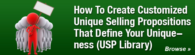 How To Create Customized Unique Selling Propositions (USP's) That Define Your Uniqueness
