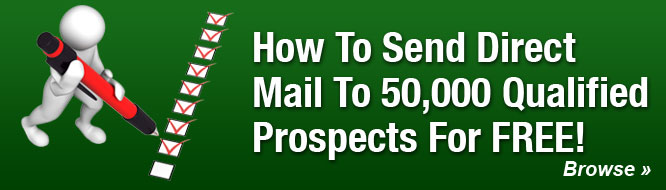 How To Send Direct Mail To 50,000 Qualified Prospects For FREE!