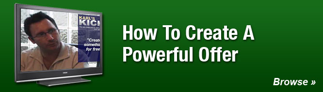How To Create A Powerful Offer