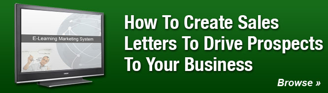 How To Create Sales Letters To Drive Prospects To Your Business