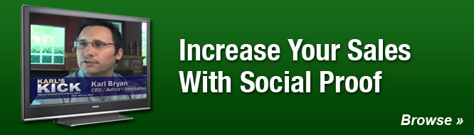 Increase Your Sales With Social Proof