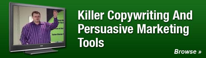 Killer Copywriting and Persuasive Marketing Tools