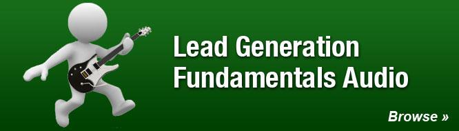 Lead Generation Fundamentals Audio