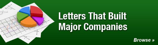 Letters That Built Major Companies