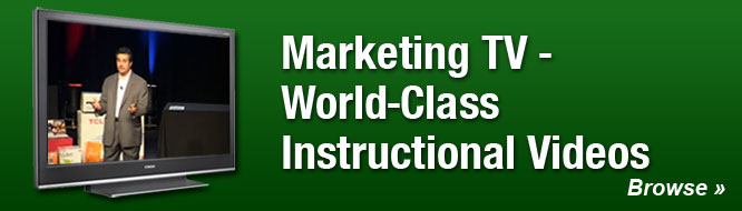 Marketing TV - World-Class Instructional Videos