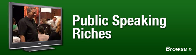 Public Speaking Riches