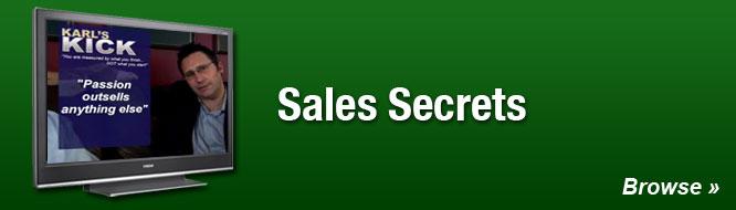 Sales Secrets
