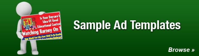 Sample Ad Templates