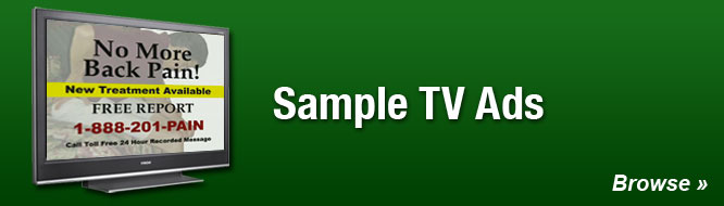 Sample TV Ads
