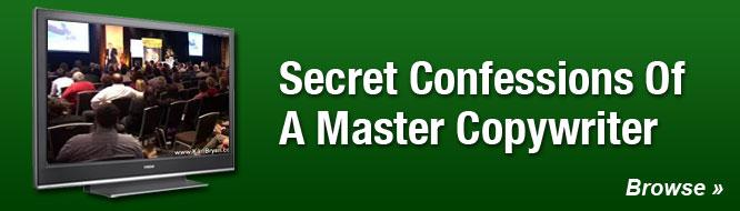Secret Confessions of a Master Copywriter