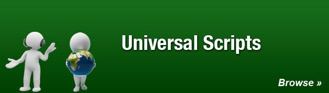 Universal Scripts