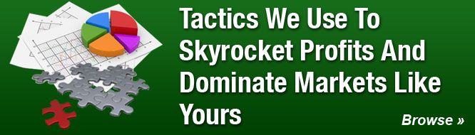 Tactics We Use To Skyrocket Profits And Dominate Markets Like Yours