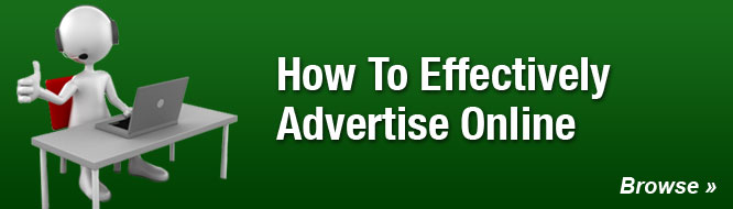 How To Effectively Advertise Online