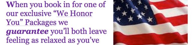 Hair Salon: Veterans Package Letter