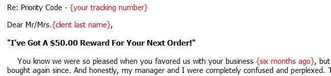 Reactivate Old Client Letter